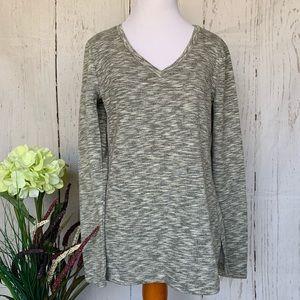 J Crew Mercantile V-neck Tunic Sweatshirt …